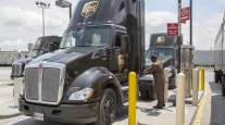 UPS CNG truck