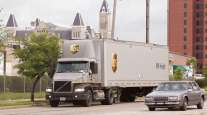 UPS Freight truck