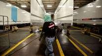 Worker helps build Wabash trailers
