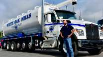 White Oak Mills Kenworth truck