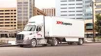 XPO Logistics truck
