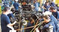 International Trucks assembly line