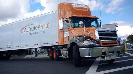 A. Duie Pyle truck