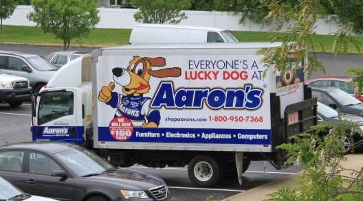 Aaron's Delivery Truck