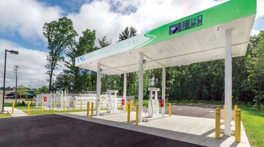 American Natural Gas station