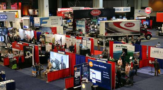 View of the floor at ATA's 2021 Management Conference & Exhibition in Nashville, Tenn.