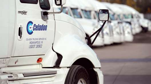 Celadon trucks