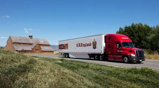 CR England truck