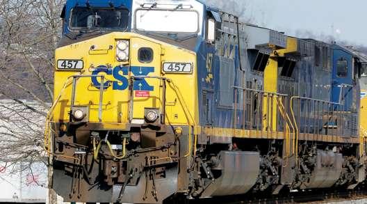 CSX locomotive