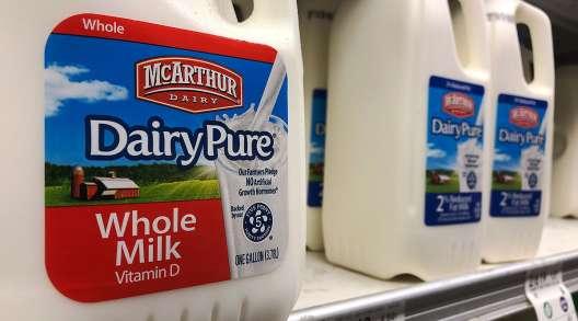 McArthur Dairy milk, a Dean Foods brand