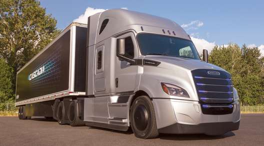 Freightliner's all-electric eCascadia