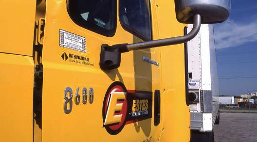 Estes logo on truck door