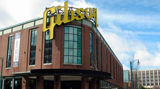 Former Gibson Guitar factory in Memphis