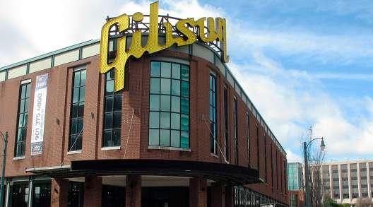 Former Gibson Guitar factory in Memphis