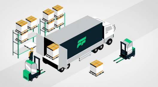 Flock Freight illustration