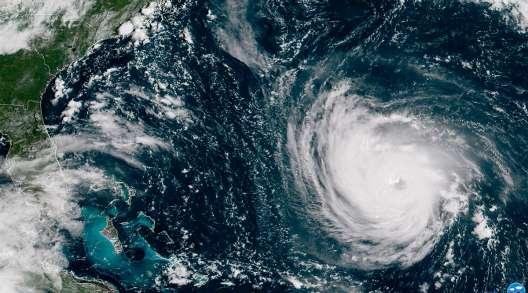Hurricane Florence on 9/11/18