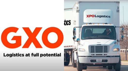 GXO logo/XPO truck
