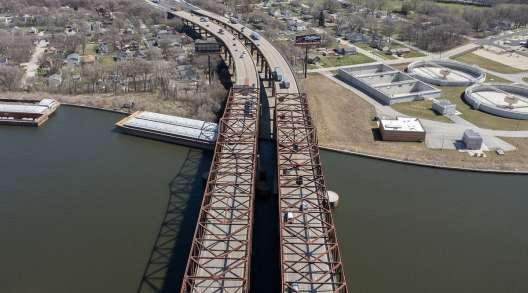 Illinois I-80 Joliet