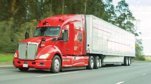 Kodiak Robotics self-driving truck