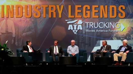 Trucking legends panel