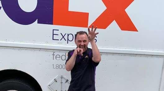FedEx Express' David Lumpkin, 2019 Rhode Island Truck Driving Championships Grand Champion
