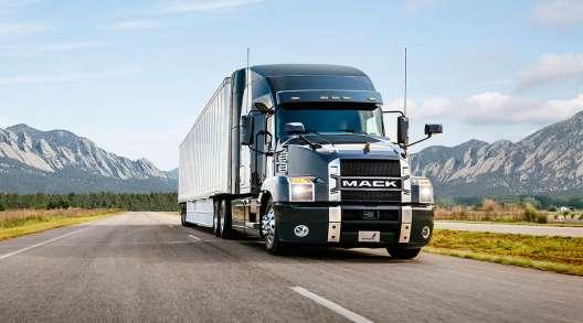Mack truck with Bendix Wingman