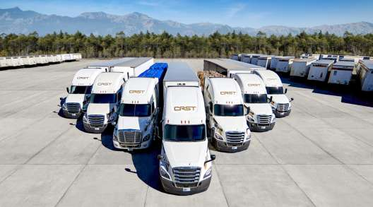 CRST The Transportation Solution ranks No. 24 on the Transport Topics Top 100 For-Hire Carriers list. (CRST The Transportation Solution)
