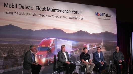 Panelists at Fleet Maintenance Forum, 2018 MATS