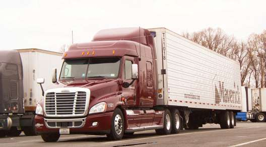 Maverick Transportation truck