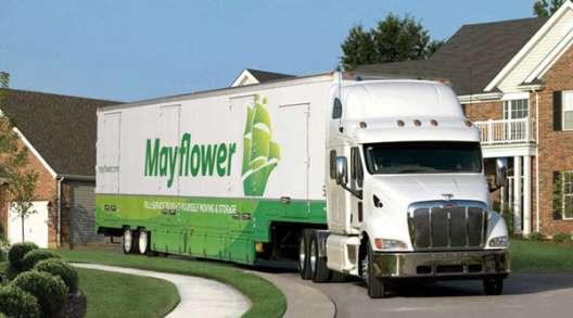 Mayflower moving van