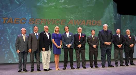 ATA Service Award Honorees at 2019 MCE