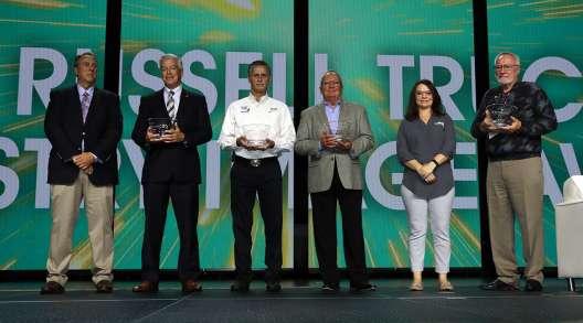 Mike Russell Award winners