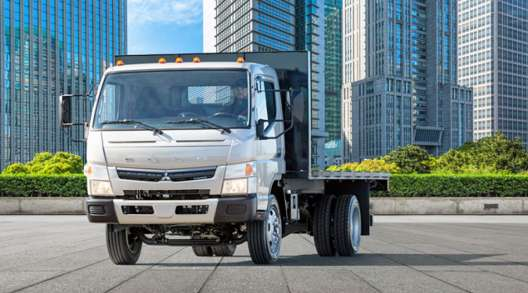Mitsubishi Fuso FE180 gasoline fueled cabover Class 5