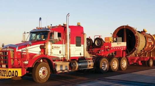 Mullen heavy-haul truck