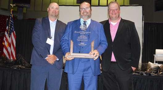 Nebraska Truck Driving Championships Grand Champion Eric Stein