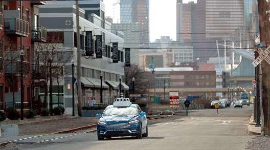 Ford Argo AI test car