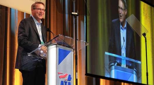 ATA President Chris Speak speaks at NTDC 2019