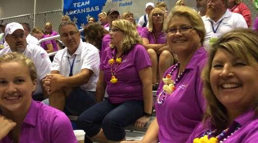 Wal-Mart fans at 2017 NTDC