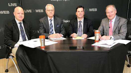 LiveOnWeb panelists Evan Armstrong, Dan Bearth, Joe Howard, Bob Voltmann