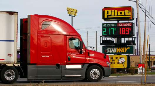 Truck at Pilot Flying J