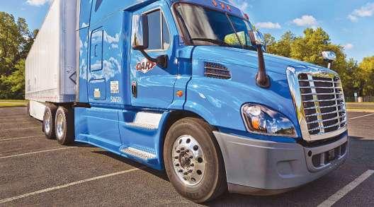 Dart Transit truck