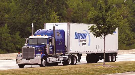 Roadrunner Transportation Systems truck
