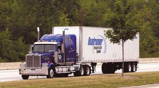 Roadrunner Transportation Systems truck
