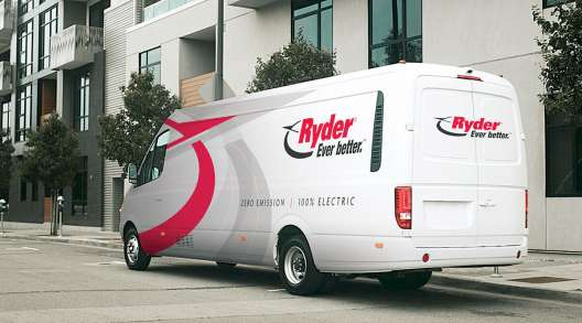 Ryder electric van