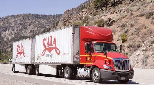 Saia Inc. truck