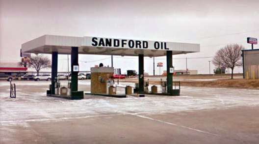 Sandford fuel station