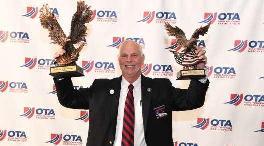 Scott Woodrome at the 2019 Ohio Trucking Driving Championships