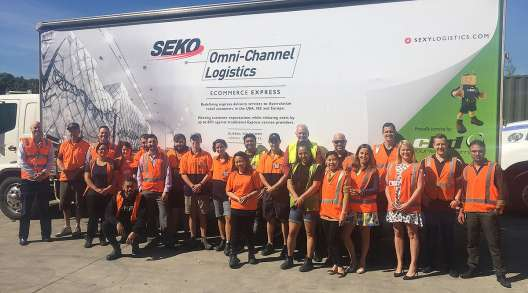 Seko Logistics team