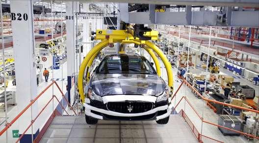 Stellantis Turin factory