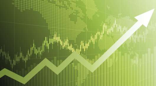 Stock market illustration